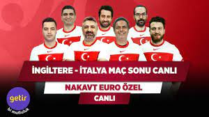 İngiltere - İtalya Maç Sonu Canlı | Serdar Ali Çelikler & Ali Ece & Uğur K.  & Yağız S.