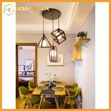Đèn thả bàn ăn - đèn trang trí hình học đa dạng - Tặng kèm bóng LED cao cấp  tại Hà Nội