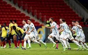 Final der Copa América - Argentinien schlägt Brasilien mit 1:0 - 20 Minuten