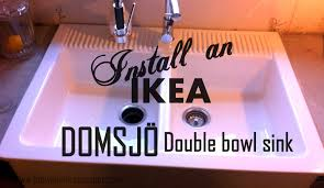 Day 17 Install An Ikea Domsjo Sink And Live