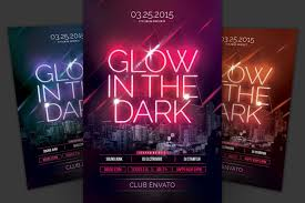 glow flyer glow in the dark flyer free download graphic dl