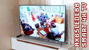 Axen 165 Ekran 4K Smart Tv (SİNEMA GİBİ DEV) - YouTube