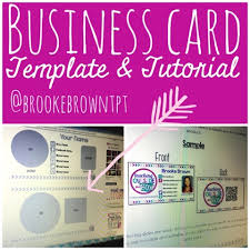 Teacher Business Cards Templates Free Customize Your Own Business Cards In Powerpoint Free Template