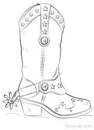Cowboy Hat Coloring Pages Coloring Pages Cowboy Boots Cowboy Boot