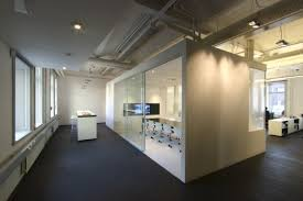 industrial office flooring. Interior, Creating Office Space Design Effectively And Efficiently: Interior With Small Meeting Room Industrial Flooring I