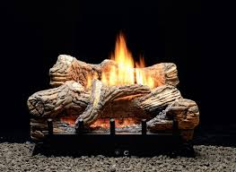 natural gas fireplace logs