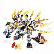 Sheng Yuan Sembo S8503 (NOT Lego Ninjago Movie White Dragon Ninja ...
