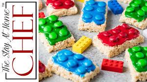 Rice Crispy Treats Designs How To Make Lego Rice Krispie Treats