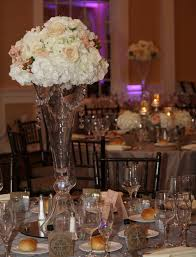 Tall Vase Wedding Centerpieces | Wedding Reception Table Centerpieces With  Amazing Tall Glass Vase .