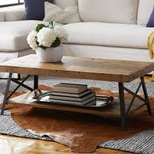 Wooden Chest As A Coffee Table Rustic And Adds Plenty