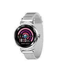 <b>Умные часы ZDK</b> H2 silver (водостойкий, пульсометр, шагомер ...