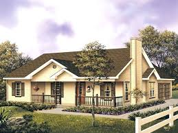 country style home with large front porch small house plans ranch