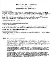freelance designer description freelance landscap on landscape designer description