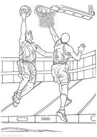 Small Picture Print Download Interesting Basketball Coloring Pages