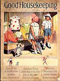 Good Housekeeping Advertising Good Housekeeping 7 1937 Disney Swin Art Fabulous Ads Vg At Amazons