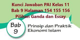 Jawaban i pg evaluasi bab 9 pai kelas 12 halaman 209 rahmat islam bagi nusantara. Kunci Jawaban Agama Islam Kelas 9 Bab 11 Soal Populer