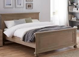 jameson natural pine wooden bed frame  dreams
