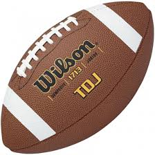 wilson tdj junior leather composite football 1713 lifestyle by focus