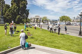 But the repercussions of this in addition to this there is an order in place for anyone in nsw who arrived from victoria in the last two. Totally Overblown Small Group Protests Covid 19 Lockdown At B C Legislature In Victoria
