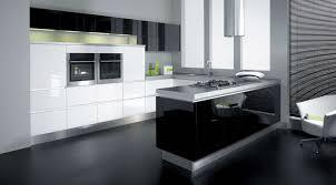 Modern Kitchen Decor kitchen luxury black kitchen decor with u shape modern kitchen 1103 by uwakikaiketsu.us