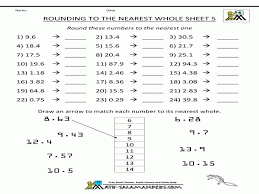 Rounding To The Nearest Tenth - FREE Printable Worksheets