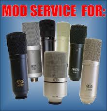silent sky studios mic mod kits and mod services 44 99 domestic u s return shipping