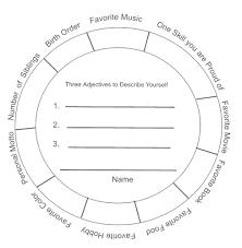 Personal Identity Wheel Inclusive Teaching