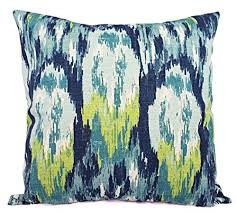 green pillow shams. Interesting Pillow Blue Grey Green And Beige Pillow Shams  Ikat Covers  In O