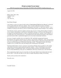 Examples Of Cover Letters For A Resume Sample Cover Letter For ...
