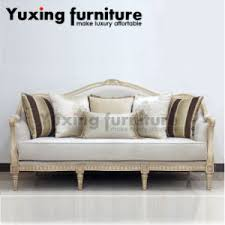 fabric sofa set. Classical Fabric Sofa Set Traditional Home Couch With Carved Wood Trim For Living Room