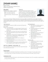 Sample Account Manager Resume Resume Template Directory