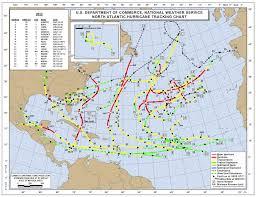 Hurricane Tracks 1851 2018