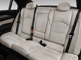 2017 cadillac cts rear seat