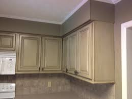 image of kitchen cabinet refinishing before and after