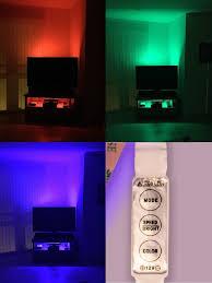 Tv accent lighting Tv Cabinet Hdtv Usb Led Strip Multi Color Rgb Led Neon Accent Lighting Kit For Flat Screen Tv Not Sealed Hdtv Usb Led Strip Multi Color Rgb Led Neon Accent Lighting Kit For