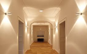 Hallway Lighting Dramatic Interior Light Fixtures With Incandescent Hallway