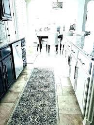 machine washable runner rugs rug kitchen wash