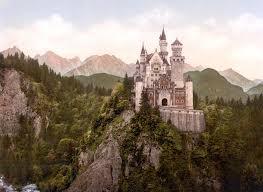 neuschwanstein castle bavaria 19th century cinderella