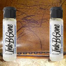 2 ink b gone sn remover cleaner eraser marker crayon makeup furniture leather walmart