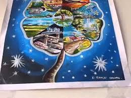 children s painting peion final result artworks chennai book fair 2018 bapasi part 02