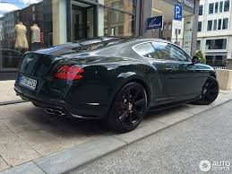 Bentley Continental GT V8 S Concours Series Black - 16 May 2016 ...