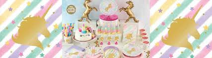 Puff Ball Decorations Nz Fascinating Gold Unicorn Sparkles Theme Unicorn Party Decorations Just Party