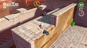 mario odyssey sand kingdom moon 12 from a crate in the ruins