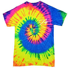 fanjoy logan paul. kids jake paul neon rainbow tie-dye shirt fanjoy logan a