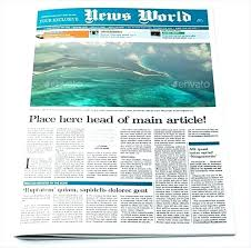 Newspaper Article Template Free Online Create Newspaper Article Template Free A Fake 3 Column Online