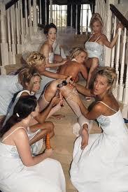 Orgy at wedding reception
