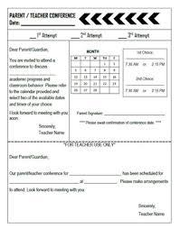 parent teacher conference letters chevron parent teacher conference letter editable tpt
