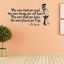Reading Quotes For Kids 17 Wonderful Removable Quotes And Saying Dr Seuss The More You Read The More