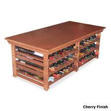 wine coffee table all solid wood with