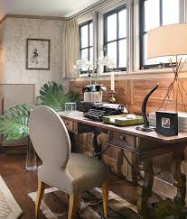 eclectic home office. Natural Elements Give This Home Office Style Eclectic O